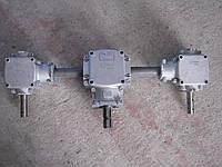Редуктор тройной Reduco R055, боковые R035 навесного разбрасывателя удобрений JAR-MET., фото 1