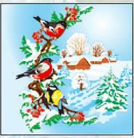 Салфетка новый год La Fleur зимний день