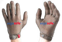 Рукавиця захисна,  кольчужна ECOMESH,нержавіюча  сталь, розмір S,  5-ти пальцева HEM51 FM