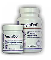 Долфос АмилаДол (Dolfos AmilaDol) ферменти для котів і собак 30 табл.,30 гр.