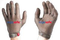 Рукавиця захисна, кольчужна, нержавіюча сталь, розмір M, 5-ти пальцева HEM52 FM