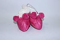 Зимние пинетки болоневые розовый GM803
