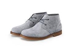 Ботинки мужские UGG Leighton Grey серые топ реплика