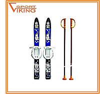 Лыжи с палками Marmat детские пластиковые 70 см (набор лыжный)