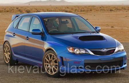 Лобовое стекло на Subaru impreza 2007-12 г.в.