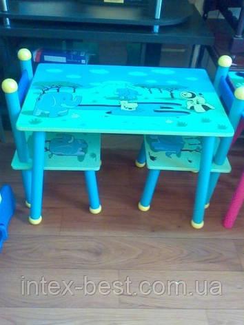 Детский столик со стульчиками J 03-2101, фото 2