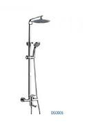 Душевая система DS005 Style GLOBUS Lux с верхним душем