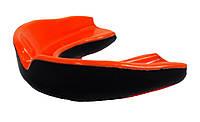 Капа боксерська 3315 Black/Orange SR