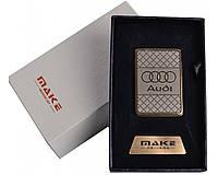 Зажигалка подарочная Audi (спираль накаливания, USB) №4693 SO