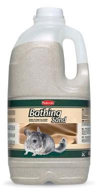 Padovan Bathing Sand  Гигиенический специальный песок для купания шиншилл.2л
