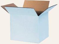 Картонный ящик белый 320х225х210
