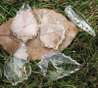 """Акриловые кристаллы подвески """" Лист"""""""