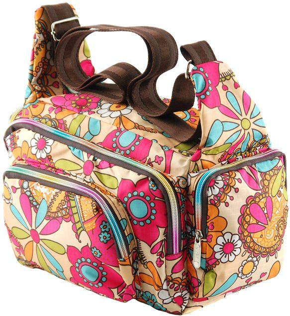 Женская сумка из нейлона Traum 7150-20, разноцветный