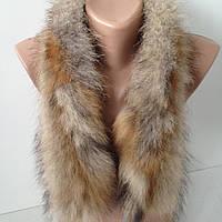 Воротник из меха лисы