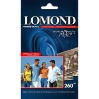 Фотобумага Lomond Premium Photo Paper 10x15 суперглянцевая 260 г/м (20 шт.)