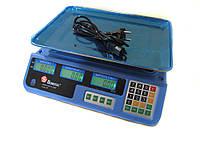 Торговые электронные весы до 50 кг Domotec MS-987