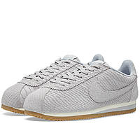 Оригинальные  кроссовки Nike Classic Cortez Leather Premium Wolf Grey & Gum