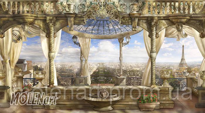 Фреска тематика город и архитектура- F 02002