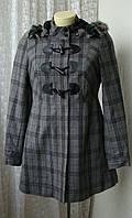 Пальто демисезонное капюшон Castro р.44 7299а