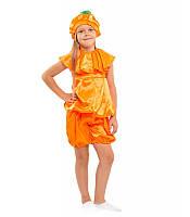 Карнавальный костюм Апельсина - Тыквы для девочки,купить оптом и розницу, MK 1408 KRKD-0002