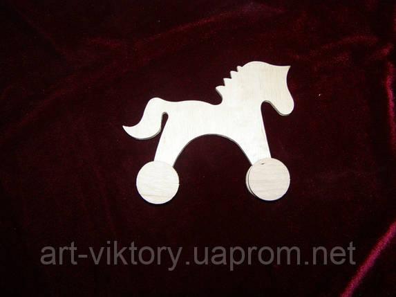 Лошадка на колесиках, фото 2