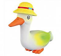 Trixie (Трикси) 35202 Гусь в шляпе латекс 15 см