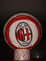 Кожаный футбольный мяч ACM(ФК Милан)