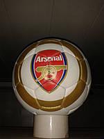 Кожаный футбольный мяч ARSENAL(ФК Арсенал)
