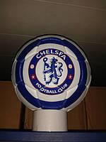 Кожаный футбольный мяч CHELSEA(ФК Челси)