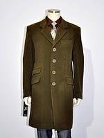 Пальто мужское №61 осень кашемир шоколад, фото 1