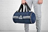 Дорожная сумка бочка адидас (Adidas), спортивная
