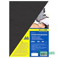 Обложки А4 под кожу 250г( 50шт)BM.0580-01 черные