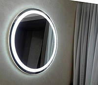 Зеркало круглое с LED подсветкой влагостойкое