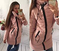 Зимняя курточка на синтепоне, застежка змейка, 10 расцветок, хорошее качество ам1 № 5554