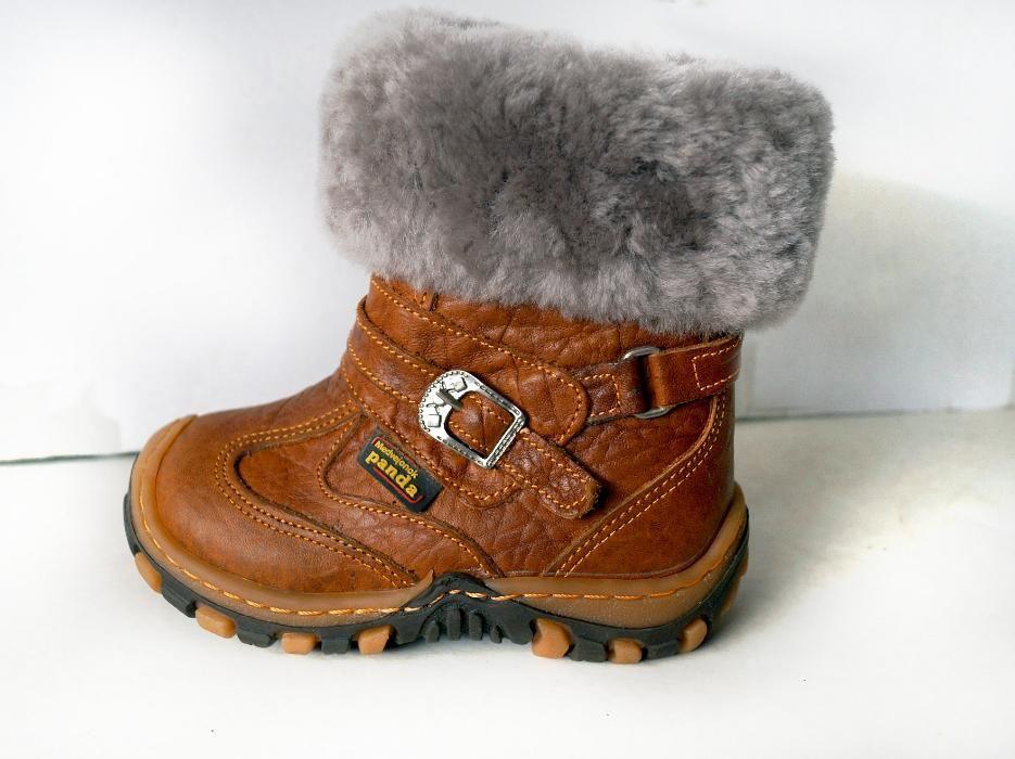 Распродажа!!! Зимние сапожки Турция Panda коричневый (рыжий) ортопедические