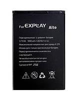 Батарея (АКБ, аккумулятор) для Explay Alto (1600 mah), оригинальный
