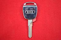 AUDI ключ с местом под чип HU49 серебро вид №4