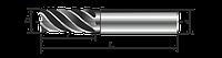 Фреза концевая твердосплавная цельная(монолитная) цилиндрический хвостовик ц/х Ф 9. ГОСТ 18372-73.»