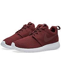 Оригинальные  кроссовки Nike Roshe One Night Maroon & White
