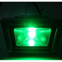 LED прожектор 30Вт зеленый , фото 1