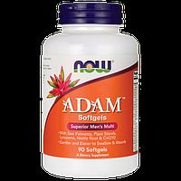 Мульти-витаминный комплекс для мужчин АДАМ / NOW - ADAM Superior Mens Multi (90 softgel), фото 1