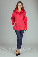 Осенняя женская куртка MONTANA красная