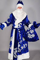 Новогодний костюм Деда Мороза из бархата