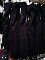 Длинные класические перчатки из кашемира