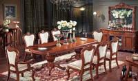 Деревянный стол раскладной P-818 размер 2.5 метра