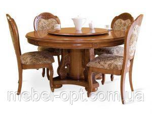 Деревянный стол раскладной P-48 Даминг 1,3 м