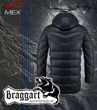 Куртка длинная с мехом теплая, фото 2