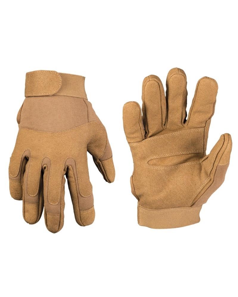 Перчатки, искусственная кожа/эластан MilTec Dark Coyote 12521019 XL