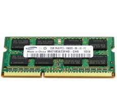 Память DDR3 2Gb PC3-10600S 1333MHz SO-DIMM ОЗУ для ноутбука