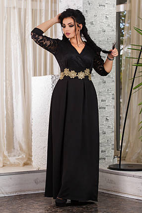 ДТ1093 Вечернее платье размеры 50-56, фото 2